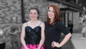 Big Sister Paula and Little Sister Mackenzie